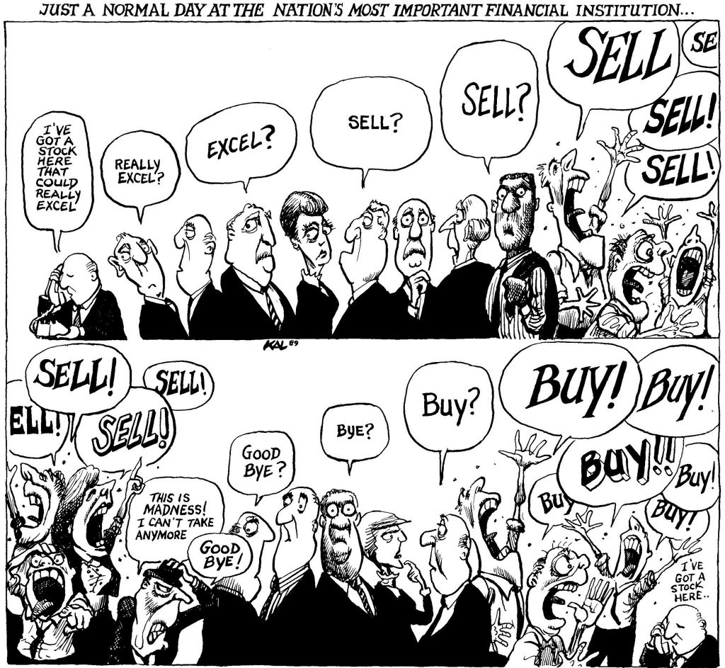 funny comic on how the stock market works